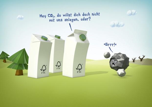 CO2, natürlich!